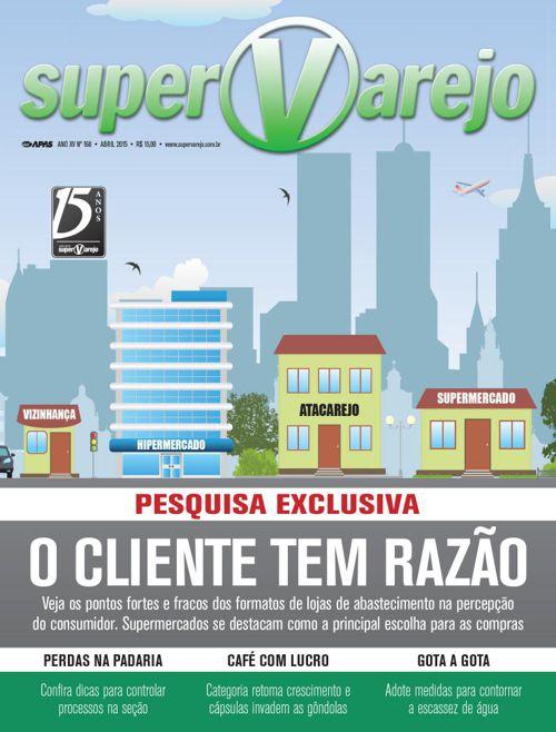 SuperVarejo 168 Abril de 2015 SV 168