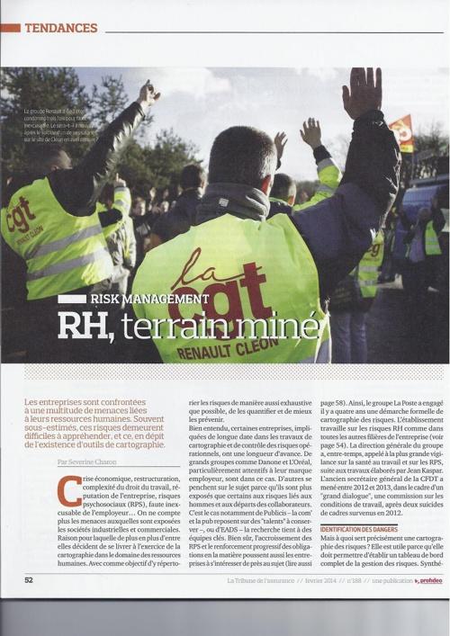 RH, terrain miné - Risk Management | L. d'Harcourt (Arengi)