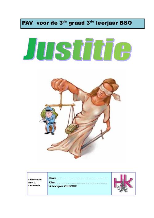 Thema: Justitie