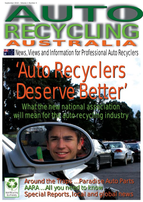 Auto Recycler September 2010