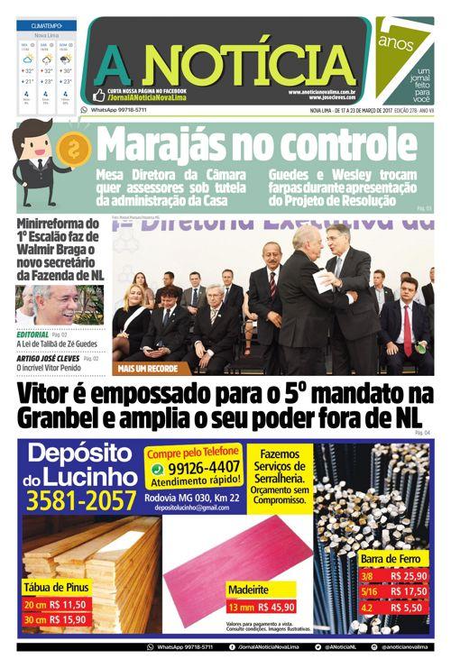 Jornal A Notícia - Edição 278