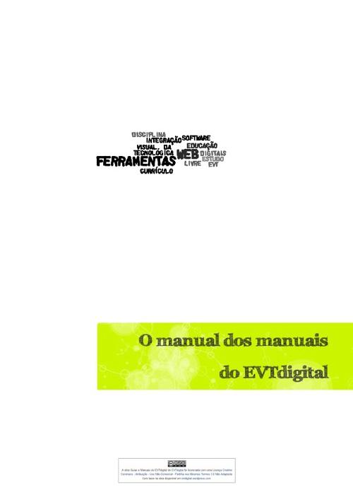 Manual dos manuais EVT