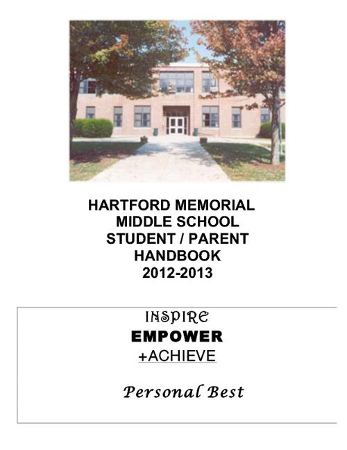 HMMS Student Parent Handbook 2012-2013
