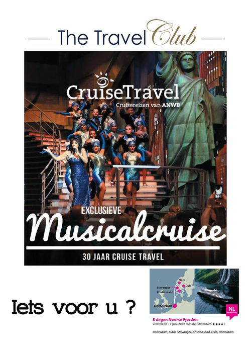 Exclusieve Musical Cruise!