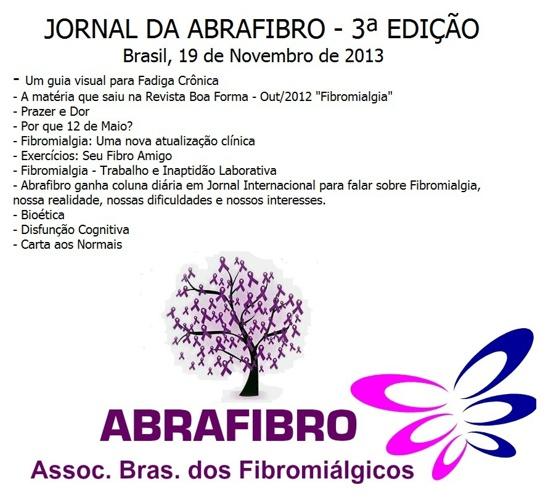 TERCEIRA EDIÇÃO DO JORNAL DA ABRAFIBRO