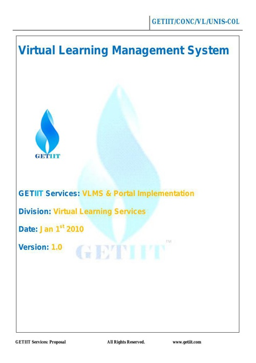 GETIIT Learning Services