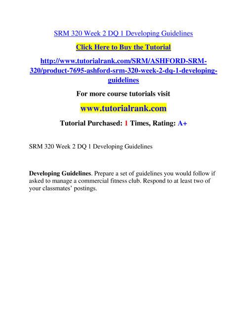 SRM 320 Slingshot Academy / Tutorialrank.Com