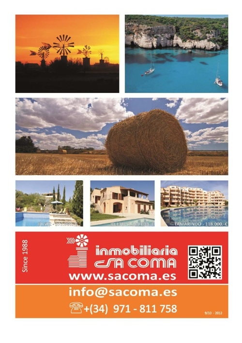 Magazine Inmobiliaria Sa Coma