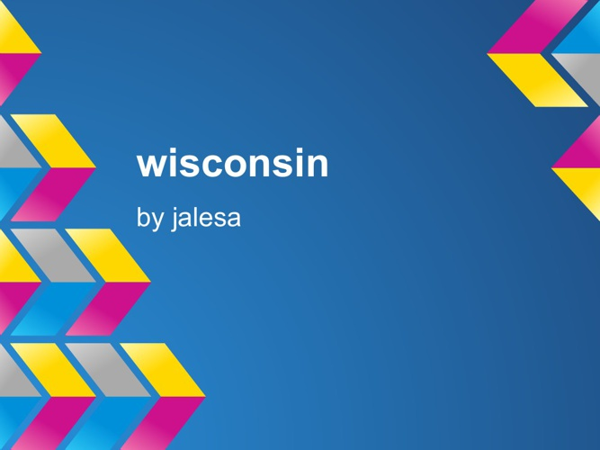 wisconsin by Jalesa