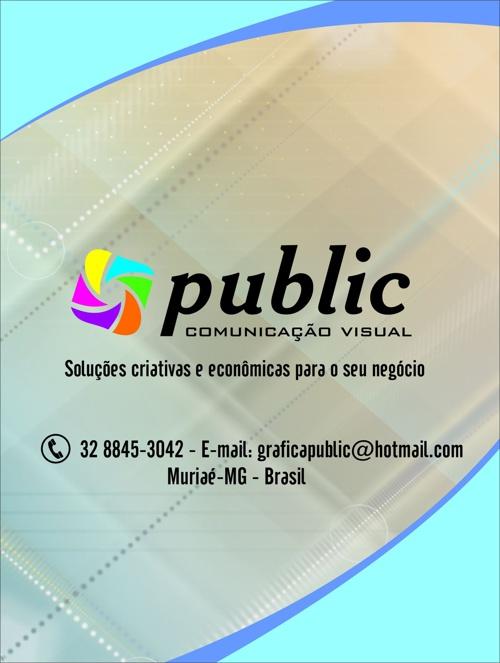 PORTFÓLIO PUBLIC COMUNICAÇÃO VISUAL