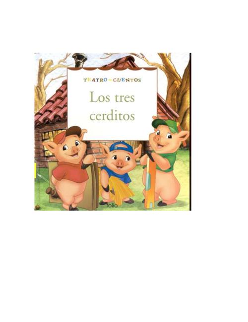 Cuento Infantil Los tres cerditos
