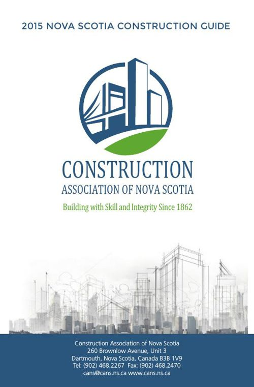 2015 Nova Scotia Construction Guide