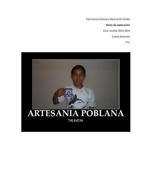 Artesanía Poblana