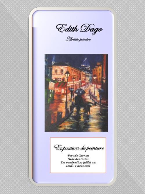 exposition personnelle - Juillet  2012