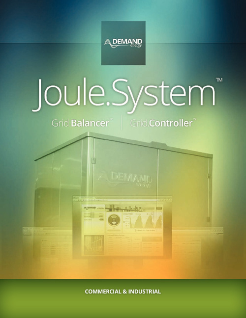 Joule.System™ for Commercial & Industrial - Demand Energy