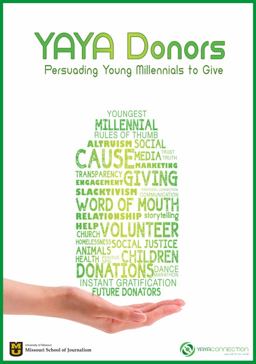 YAYA Donors: Persuading Young Millennials to Give