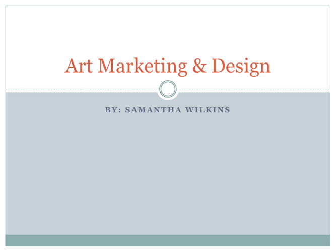 Art Marketing & Design