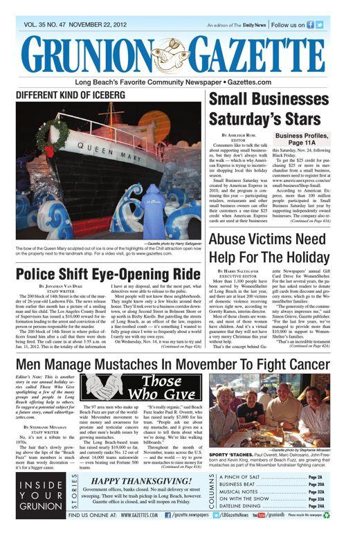 Grunion Gazette | November 22, 2012
