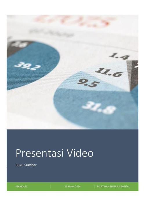 PRESENTASI VIDEO (Screencast O Matic)