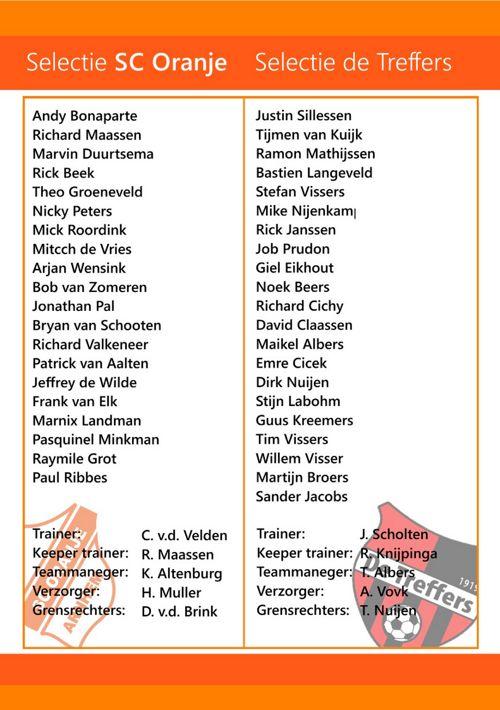 SC Oranje 10-12-16