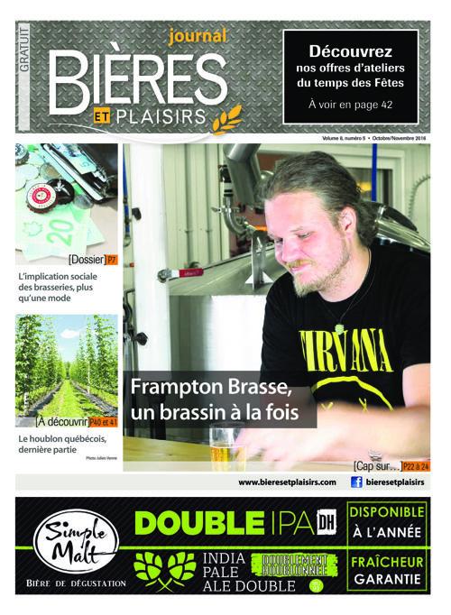 Bières et Plaisirs - Octobre 2016