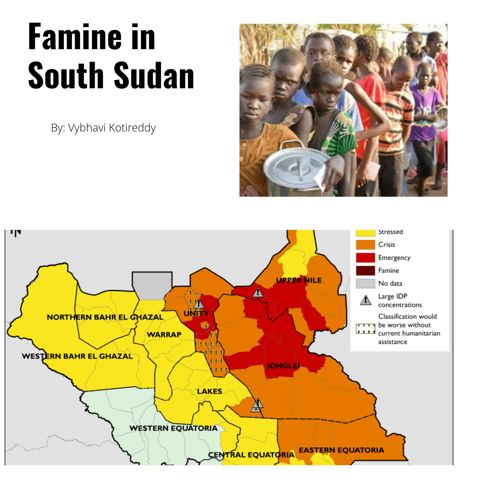 Social Studies Project on famine