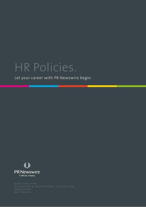 PR Newswire HR Policies
