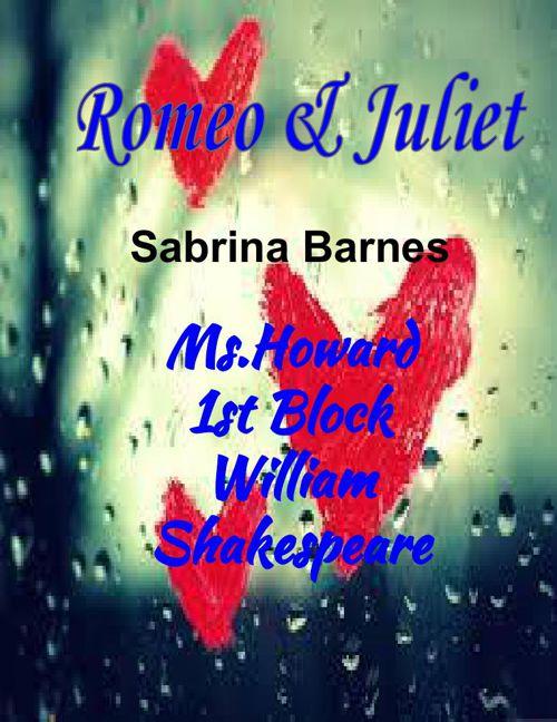 Romeo & Juliet ScracpBook