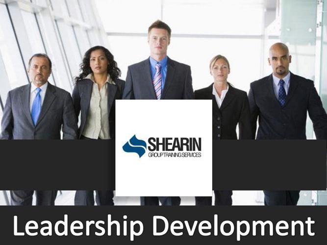 Shearin Group Training Services Leadership Development