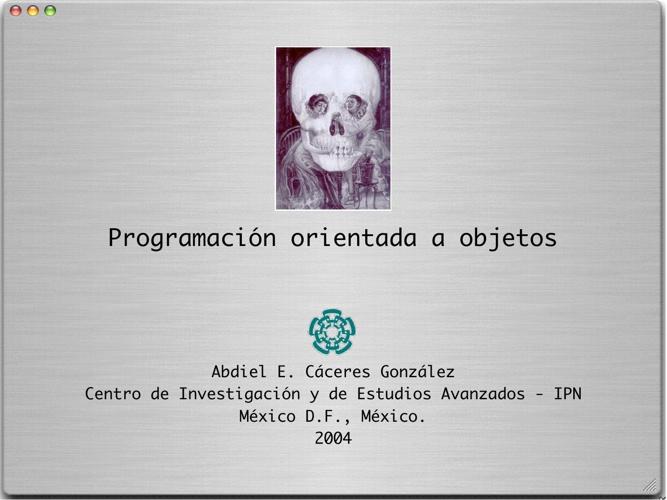 Programacion Orentada a Objetos