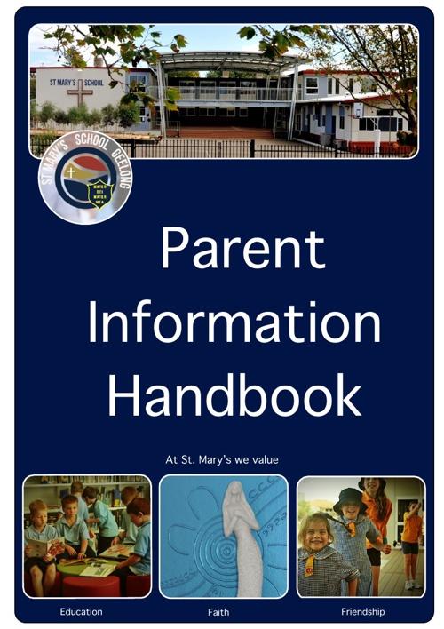 Parent Handbook 2013