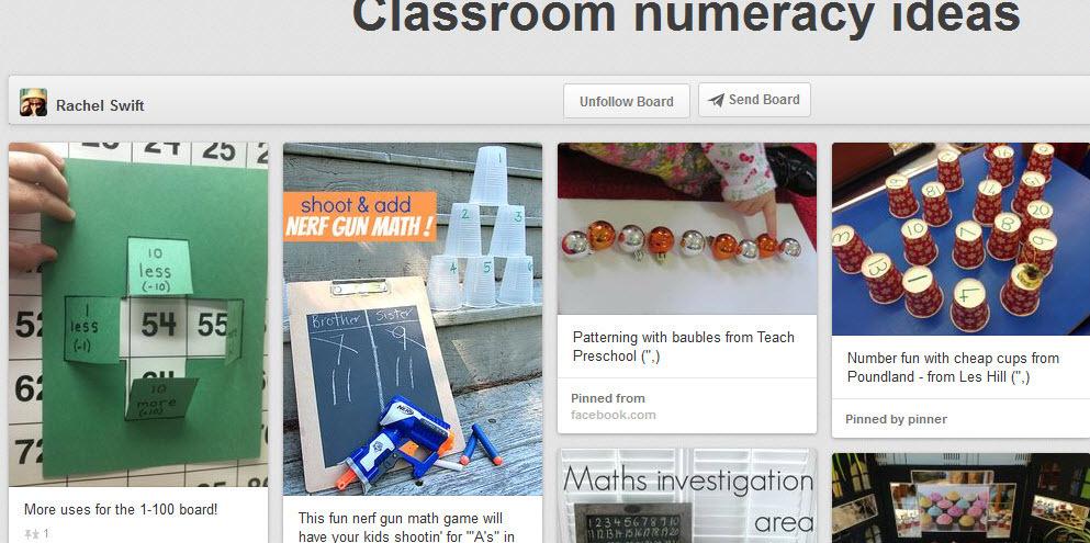 Classroom numeracy