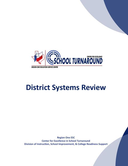 District Systems Review brochure layout for flip book 01 25 16