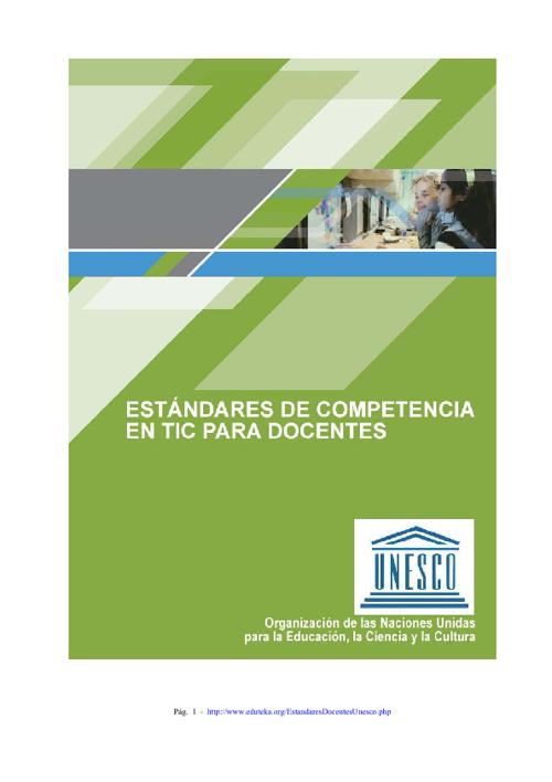 UNESCO Estandares Docentes