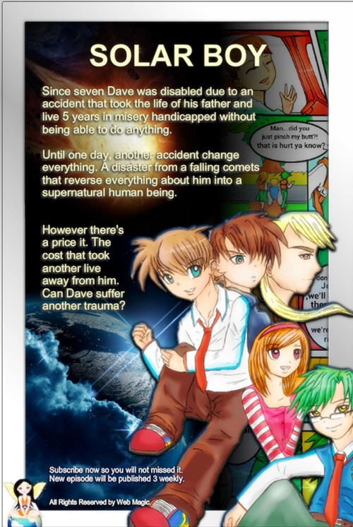 Solar Boy ( Chapter 1 : Part 1-9 )