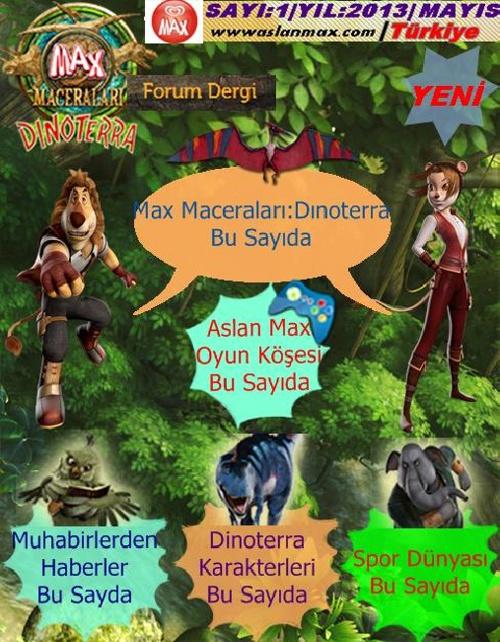 Aslan Max Forum Dergi (Sayı:)
