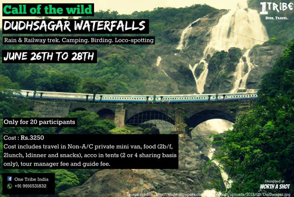 Dudhsagar Waterfalls with One Tribe India