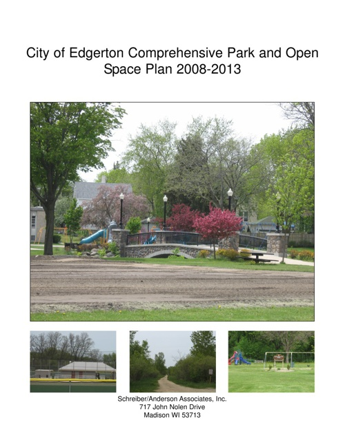 Comprehensive Park and Open Space Plan