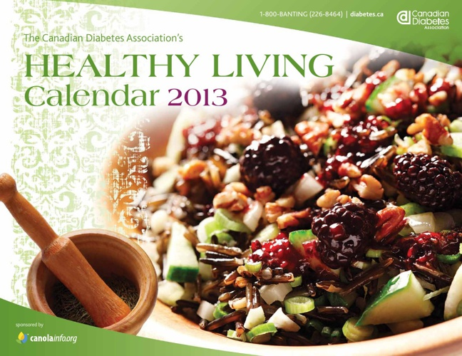 Healthy Living Calendar 2013