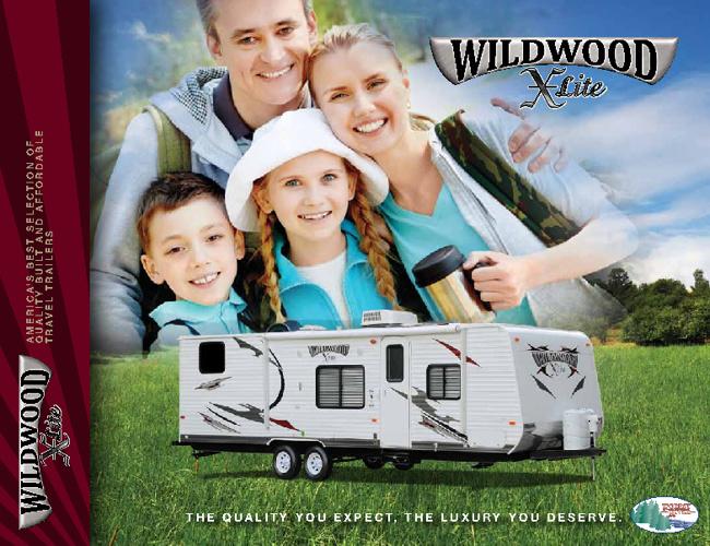 2012 Wildwood X-Lite by ForestRiver brochure