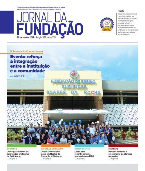 Jornal da Fundação - 1º semestre 2017