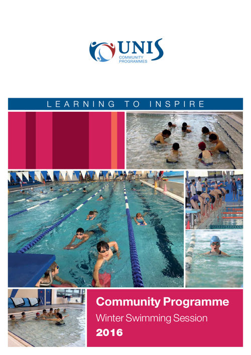 Community Programmes Winter Swim Session 2016