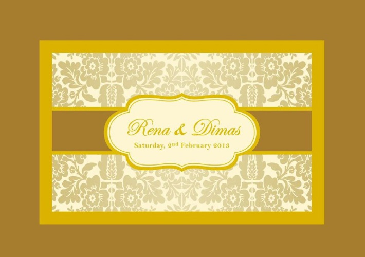 Wedding E-Card Rena & Dimas