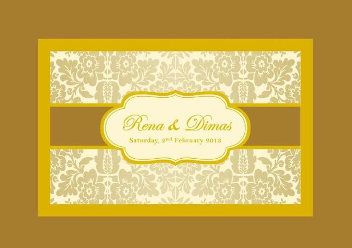 Wedding E-Card Rena & Dimas