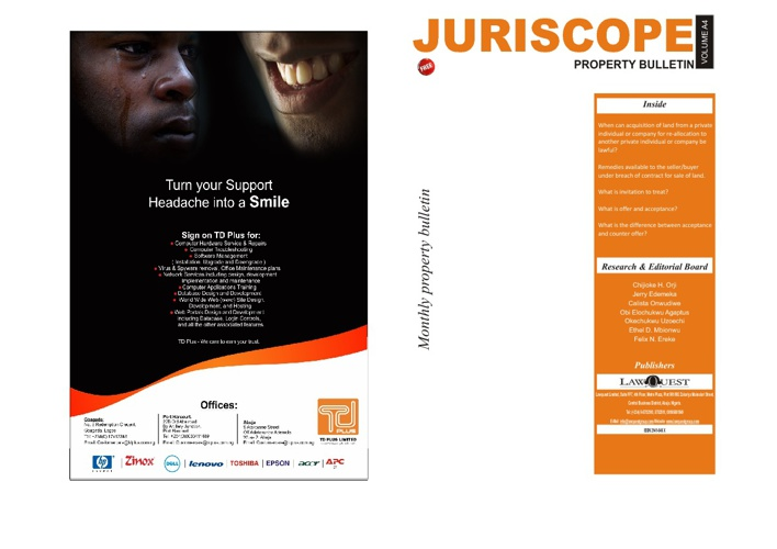 Juriscope Property Bulletin Vol - A4