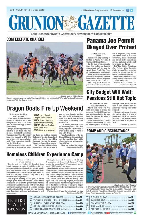 Grunion Gazette | July 26, 2012