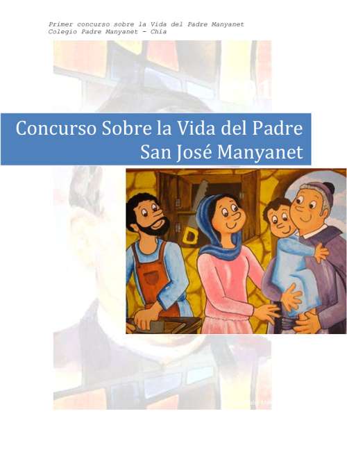 Primer Concurso de la Vida de San José Manyanet