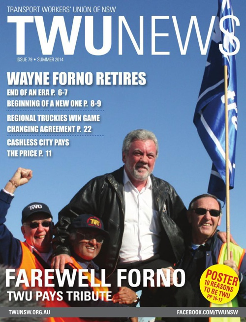 TWU News Summer 2014