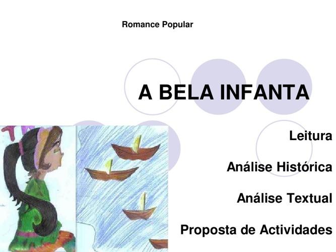 A Bela Infanta - leitura e análise