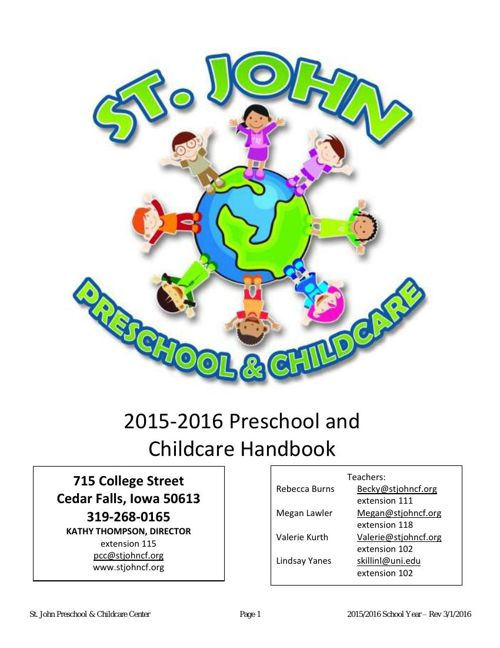15-16 HANDBOOK for parents rev032216